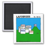 Cute Funny Spices Laftovers Cartoon Kitchen Magnet