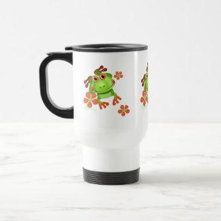 Cute Funny Tree Frog Mugs