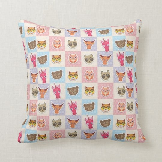 Cute Furry Friends Cushion