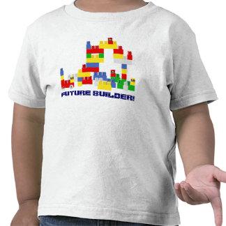 Cute FUTURE BUILDER Design w/ -Style Blocks T Shirt
