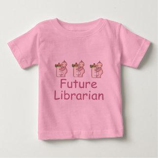 Cute Future Librarian Baby T-shirt