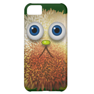 Cute Fuzzy Cartoon Character Art for All iPhone 5C Case