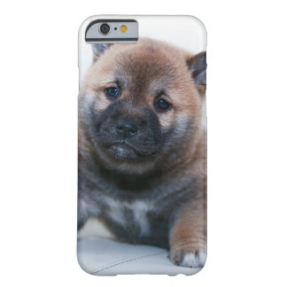 Cute Fuzzy Puppy Dog Barely There iPhone 6 Case