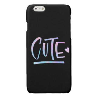 Cute Galaxy Typography Phone Case