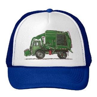 Cute Garbage Truck Trash Truck Mesh Hat