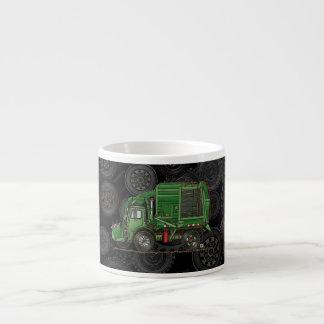 Cute Garbage Truck Trash Truck Espresso Mug
