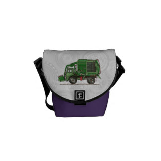 Cute Garbage Truck Trash Truck Commuter Bags