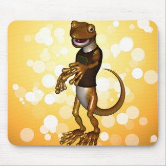 Cute gecko mousepad