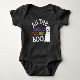 Cute Ghost and Ghouls Halloween Tee Shirt
