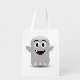 Cute Ghost Halloween Reusable Trick-or-Treat Bag