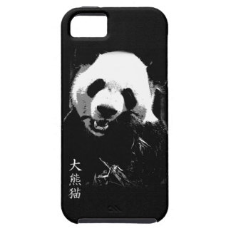 Cute Giant Panda Bear with tasty Bamboo Leaves iPhone 5 Cover