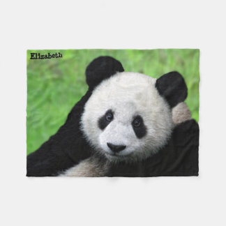Cute Giant Panda Blanket