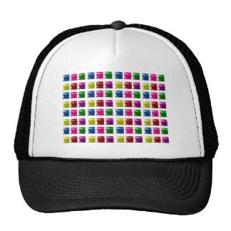 Cute Gift Box Bling Pattern Mesh Hat