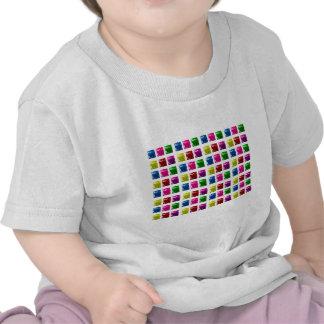 Cute Gift Box Bling Pattern T-shirt
