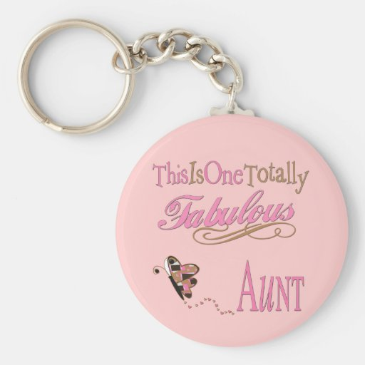 Cute Gifts For Aunts Keychains