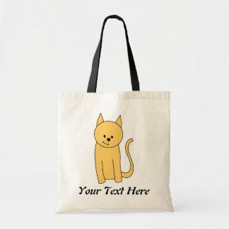 Cute Ginger Cat. Budget Tote Bag