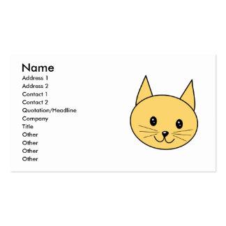 Cute Ginger Cat. Business Card