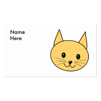 Cute Ginger Cat. Business Cards