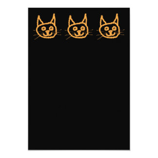 Cute Ginger Cat. Personalized Invitations