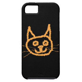 Cute Ginger Cat. iPhone 5 Cases