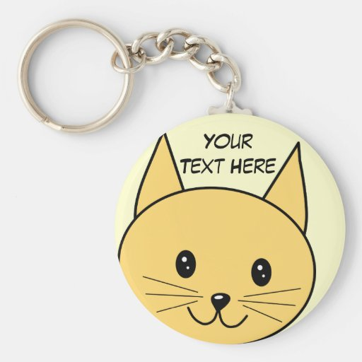 Cute Ginger Cat. Keychains