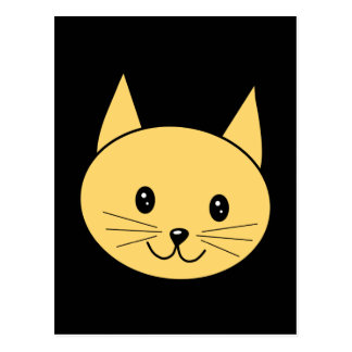 Cute Ginger Cat. Postcard