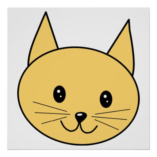 Cute Ginger Cat. Posters