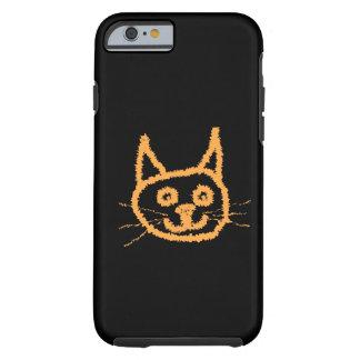 Cute Ginger Cat. Tough iPhone 6 Case