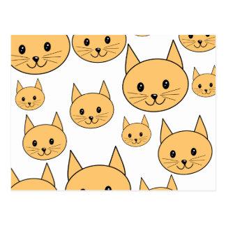 Cute Ginger Cats. Postcard