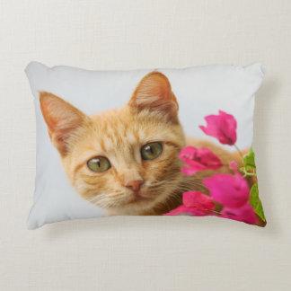 Cute Ginger Kitten Watching You, cushion