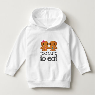 Cute Gingerbread Boy and Girl Cookies Hoodie