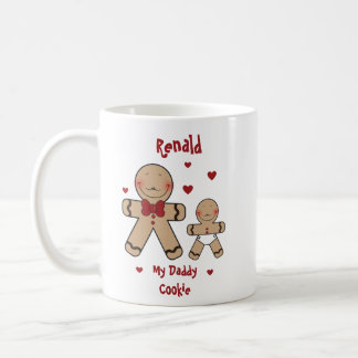 Cute Gingerbread Cookies Cartoon Coffee Mug