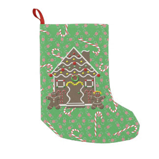 Cute Gingerbread House Christmas Candy Canes
