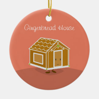 Cute Gingerbread House on an ornament