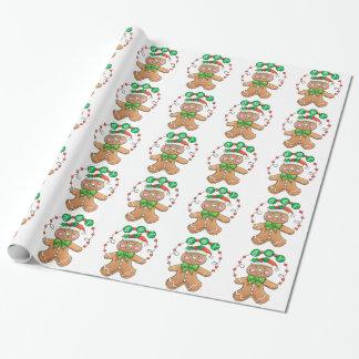 Cute Gingerbread man, Christmas Cookie Joy