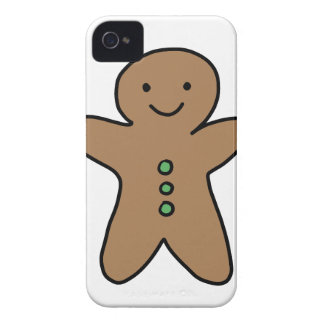 CUTE GINGERBREAD MAN iPhone 4 CASE