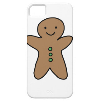 CUTE GINGERBREAD MAN iPhone 5 COVERS