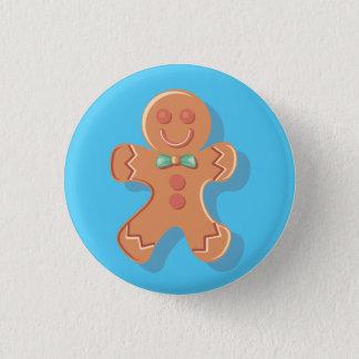 Cute Gingerbread Man Pin