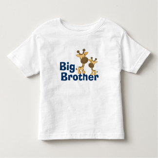 Cute Giraffe Big Brother Toddler T-Shirt