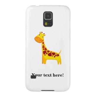 Cute giraffe cartoon cases for galaxy s5