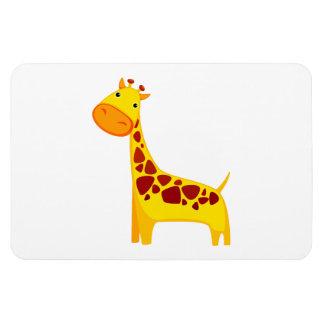 Cute giraffe cartoon magnet