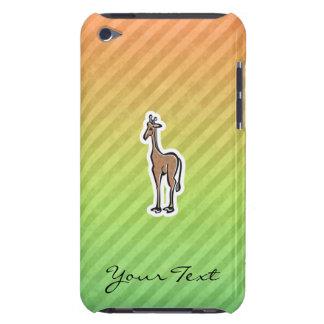 Cute Giraffe Colorul Barely There iPod Case