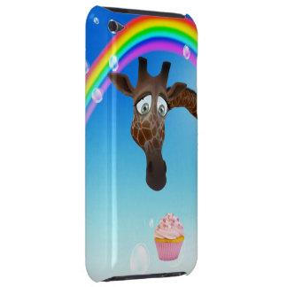 Cute Giraffe, Cupcake & Rainbow iPod Case-Mate Cases