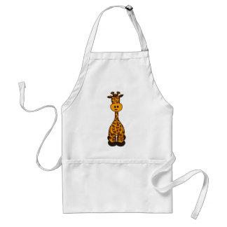Cute Giraffe Design Standard Apron
