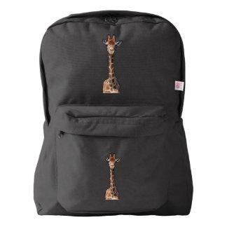 Cute giraffe face backpack