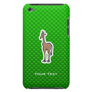 Cute Giraffe; Green iPod Touch Case-Mate Case