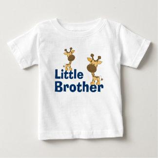 Cute Giraffe Little Brother Baby T-Shirt