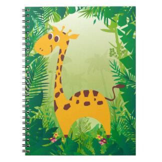 Cute Giraffe Notebooks