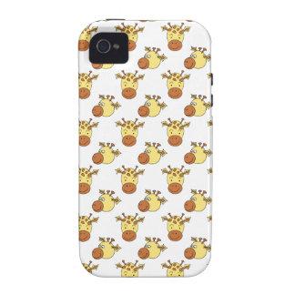 Cute Giraffe Pattern. iPhone 4/4S Covers