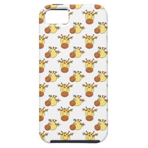 Cute Giraffe Pattern. iPhone 5 Cover